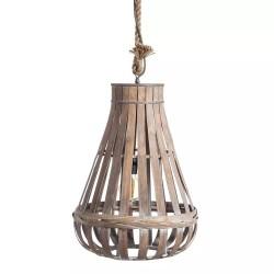 Lámpara de techo Bambú envejecido