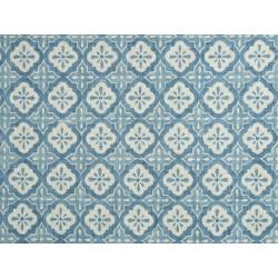 Tela MUNNAR 100% poliéster color Azul