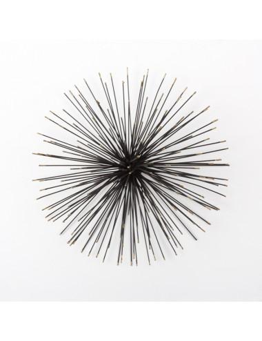 Escultura en Negro y Dorado tamaño mediano