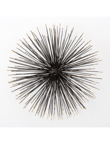 Escultura en Negro y Dorado tamaño Grande