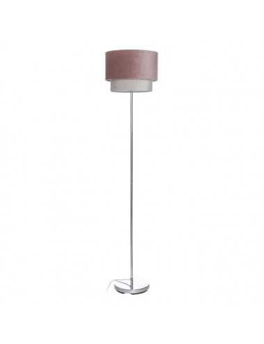 Lámpara de Suelo Rosa/Blanco