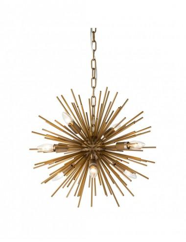 Lámpara de techo Estrella dorada