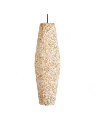 Lámpara de Techo de Caracolas y Capiz blanco