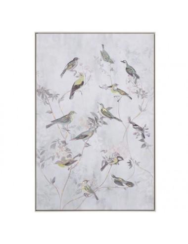 Cuadro de Impresión de Pájaros en Lienzo