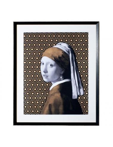 Cuadro en Impresión La Joven de la Perla Vermeer