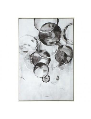 Cuadro Impresión Abstracto color Negro y Blanco