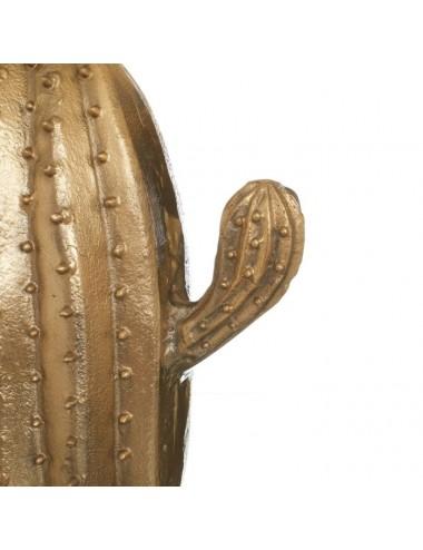Lámpara de Sobremesa Cactus en Latón Dorado, detalle Brazo Cactus