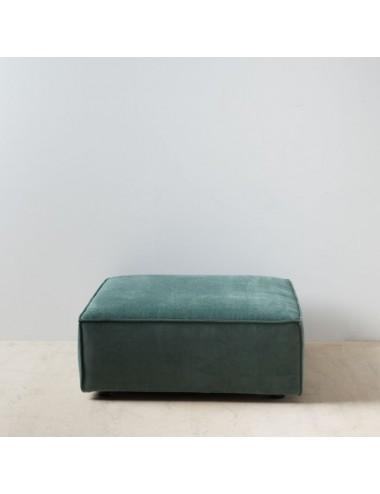 Puf Sofá Modular Verde Oscuro