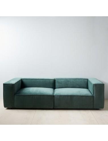 Sofá Modular Verde Oscuro