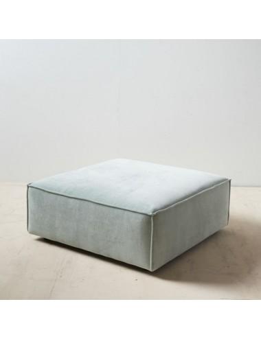 Puf Sofá Modular Verde Claro