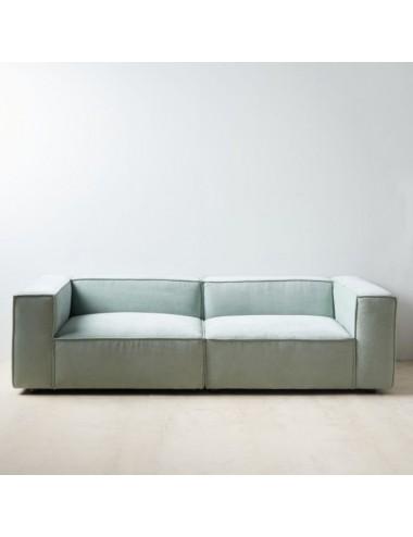Sofá Modular Verde Claro