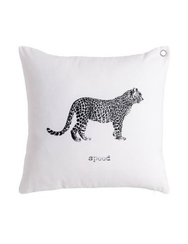 Cojín Tigre en Blanco y Negro