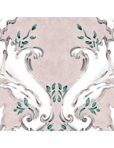 Papel Pintado Ornamental color Nude