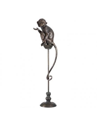 Figura de Mono en Bronce y Poliresina