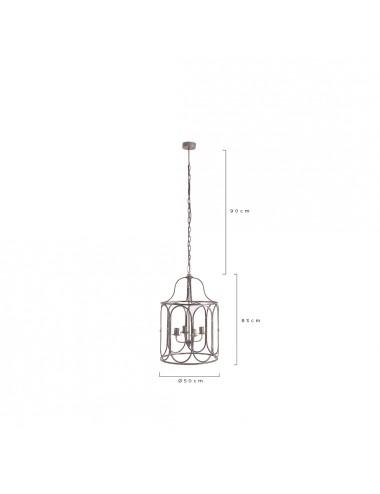 Lámpara de Techo de Hierro WIDEN, medidas