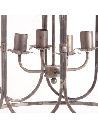 Lámpara de Techo de Hierro WIDEN, detalle Interior
