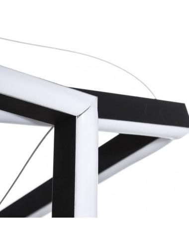 Lámpara de Techo en Metal Negro, detalle 1