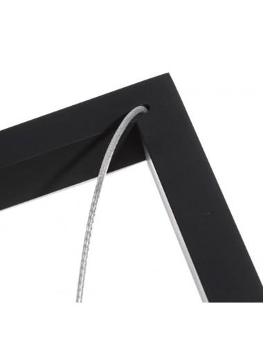Lámpara de Techo en Metal Negro, detalle 2
