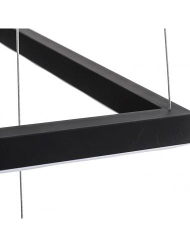 Lámpara de Techo en Metal Negro, detalle 3