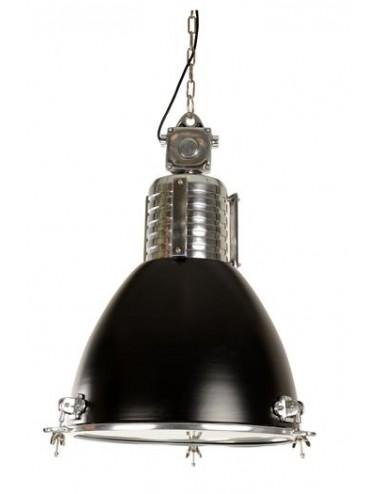 Lámpara de Techo de Estilo Industrial en Metal