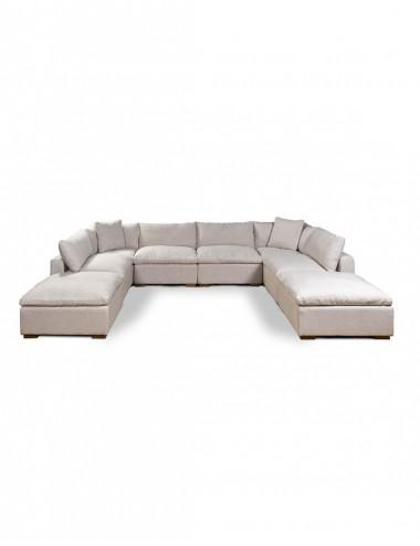 Sofá Modular de Lino Soleo