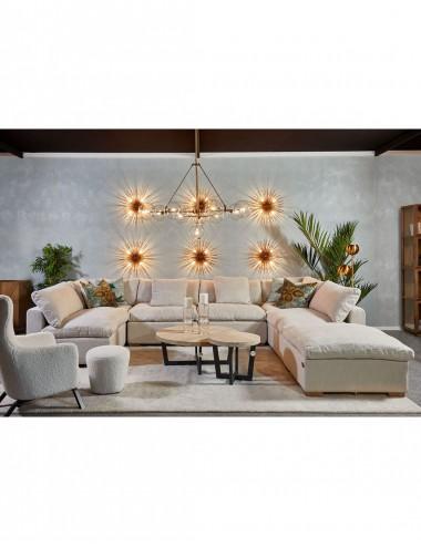 Sofá Modular de Lino Soleo, foto Ambiente