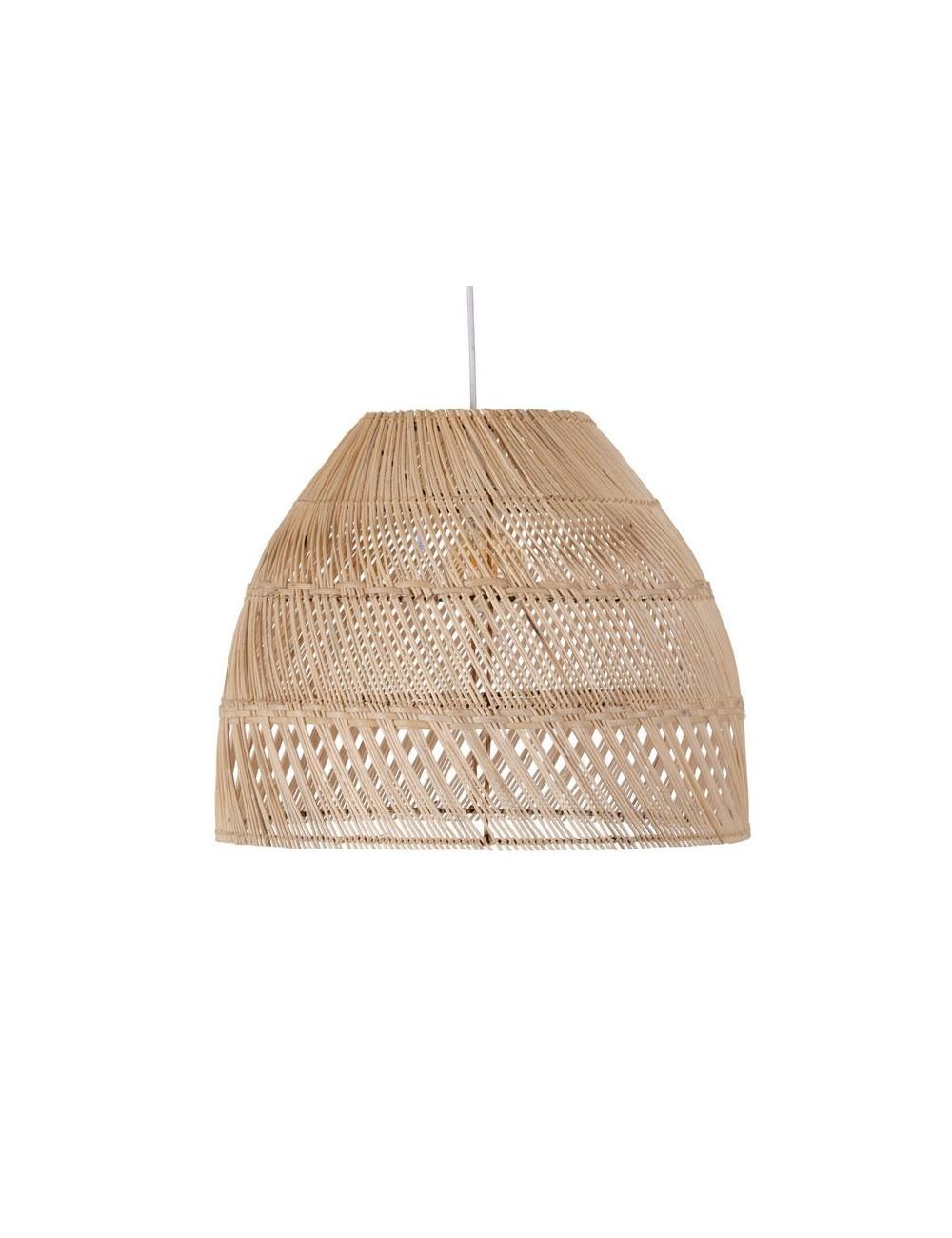 Lámpara de Techo en Bambú Natural