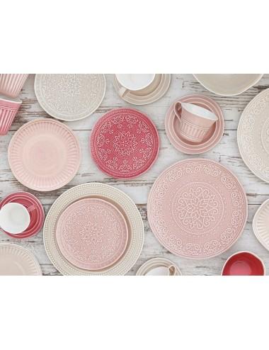 Plato Llano ABITARE color Rosa, foto Ambiente