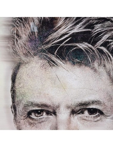 Cuadro Impresión David Bowie, detalle 1