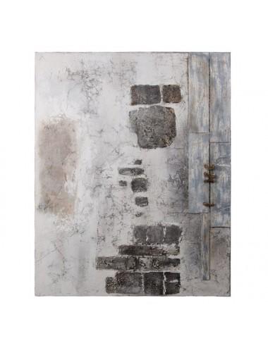 Cuadro Pintura Abstracto sobre Lienzo