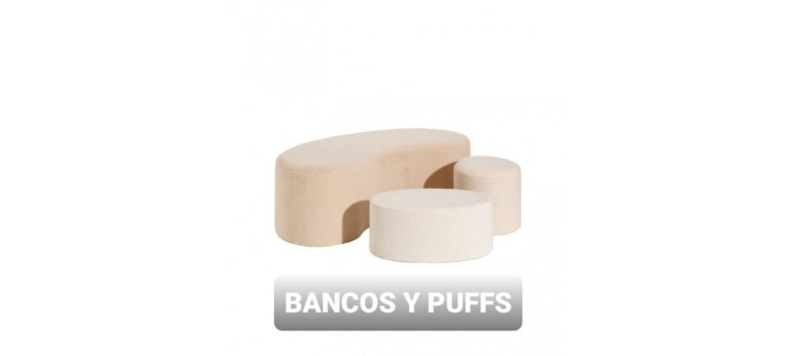 Bancos y Puffs